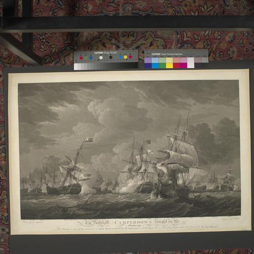 Battle of Camperdown, 1797 (Camperduin, North Holland, Netherlands) 52?43'11