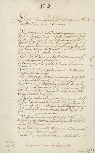 Item: Adendorf and Luneburg, 1780 (Adendorf, Lower Saxony, Germany) 53?16'54