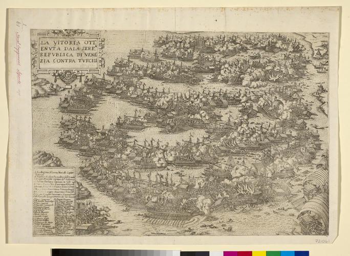 View of the Battle of Lepanto, 1571 (Nafpaktos, West Greece, Greece) 38?23?30?N 21?49?39?E