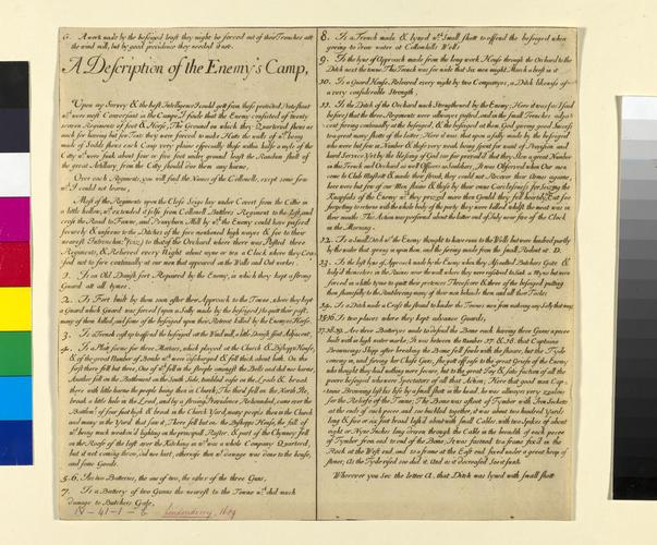 Item: Siege of Londonderry, 1689 (Londonderry, Northern Ireland, UK) 54?59?53?N 07?18?33?W