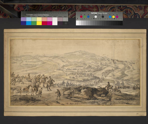 View of the Battle of Aughrim, 1691 (Aughrim, Connaught, Ireland) 53?17?42?N 08?18?43?W
