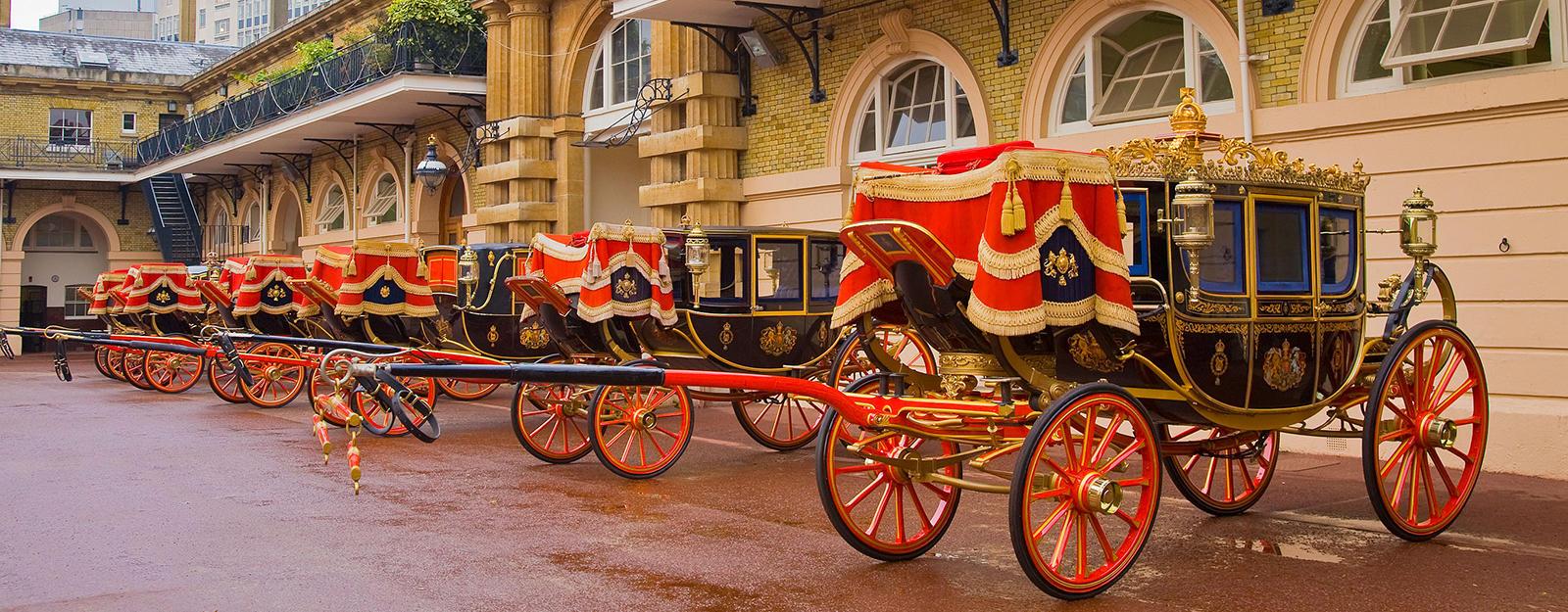 The Royal Mews at Buckingham Palace