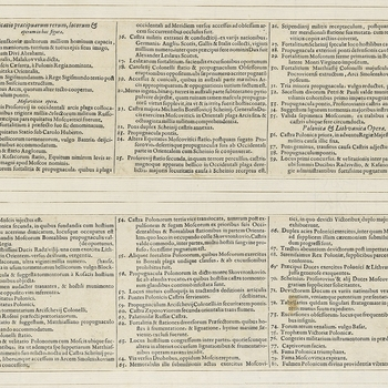 <p>Accompanying text to the view of Smolensk at RCIN 722074.a. <em>Smolensk War (1632-1634)</em>. See also RCINs 722074.b and c.<br /><br />Condition: text: both panels creased, each with a single tear which occured before mounting; no gilt edges.</p>