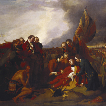 West's arrival in England from Italy in 1763 occurred at a time when artists were seeking to create a distinguished national school of history painting. George III was eager to support such a goal and was also a keen supporter of the proposal to fou