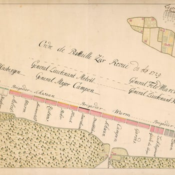 An order of battle of the Hanoverian army, commanded by Baron Bülow in 1729 at Hanover. The site of this review was on the heathlands to the east of Hanover, in the area of the Eilenriede forests, in the vicinity of the Pferdeturm, a medieval tower.