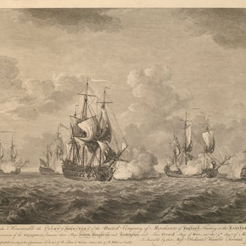 View of Cape of Good Hoop, 1757 (Cape of Good Hope, Western Cape, South Africa) 34?21'30