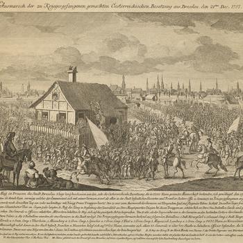 View of Breslau, 1757 (Wroclaw, Lower Silesian Voivodeship, Poland) 51?06'00