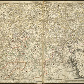 Master: Maps of Hesse-Kassel, 1759 (Hesse, Germany) Item: Map of Hesse-Kassel, 1759 (Hesse, Germany)