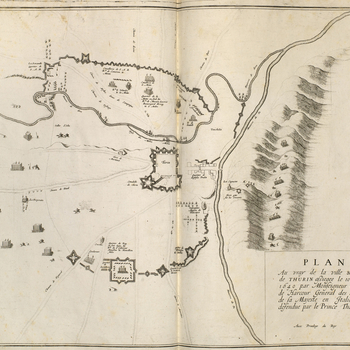 Master: Maps of France and Italy, 1629-1640 Item: View of the siege of Turin, 1640 (Turin, Piedmont, Italy) 45?04'13