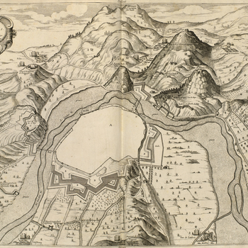 Master: Maps of France and Italy, 1629-1640 Item: Plan of Ales, 1629 (Ales [Alezs], Langueoc-Roussillon, France) 44?08?00?N 04?05?00?E