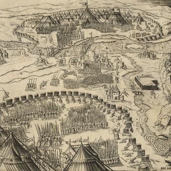View of Vienna, 1532 (Vienna, Austria) 48?12?30?N 16?22?19?E