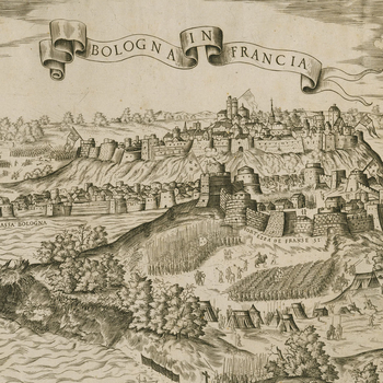 View of Boulogne, 1549 (Boulogne, Nord-Pas-de-Calais, France)