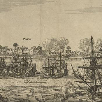 View of Olinda, 1630 (Olinda, Pernambuco, Brazil)