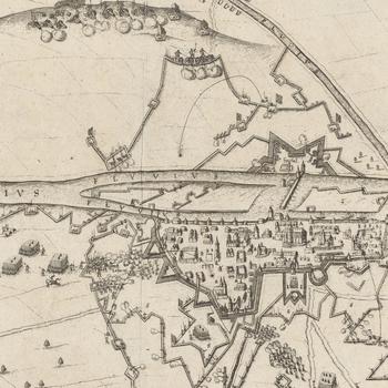 View of the siege of Regensburg, 1634 (Regensburg [Ratisbon], Bavaria, Germany) 49?02?04?N 12?07?09?E