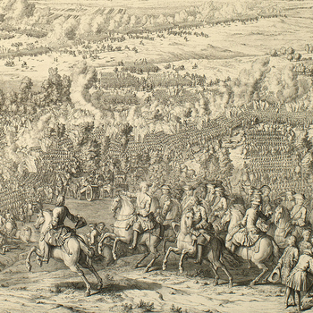 View of the Battle of Lesnaya, 1708 (Lyasnaya, Mahilyowskaya Voblast, Belarus) 53?32'30
