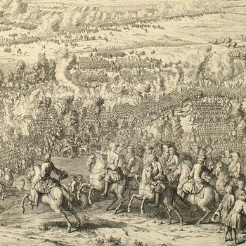 View of the Battle of Lesnaya, 1708 (Lyasnaya, Mahilyowskaya Voblast, Belarus) 53?32'30