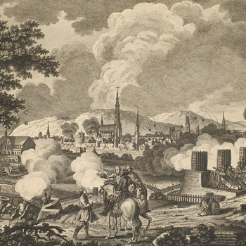 View of the siege of Schweidnitz, 1758 (Swidnica, Lower Silesian Voivodeship, Poland) 50?50'37