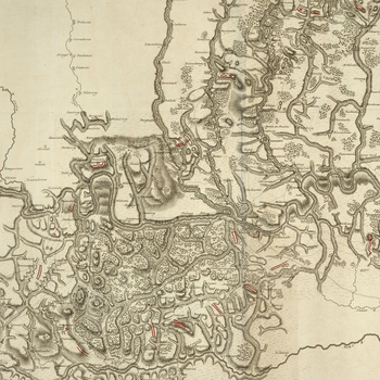 Master: Maps of Turkey, 1769Item: Map of Choczim, 1769 (Khotyn, Chernivets'ka, Ukraine) 48?30'24
