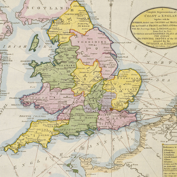 Item: Map of England, 1803