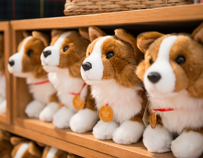Corgi toys in the Royal Collection Trust shop